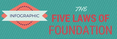 The Five Laws Of Foundation [Infographic]